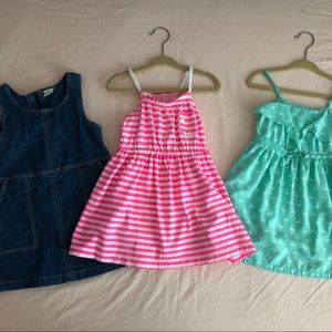 Lot of three 2T dresses